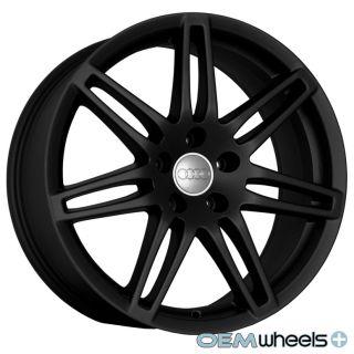 19 Black Audi RS4 Wheels A4 A5 S5 S4 R8 A6 A8 VW Rims
