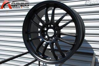 18x8 5 Rota SVN 5x114 3 48 Flat Black Wheel Fits RSX TSX STI Prelude