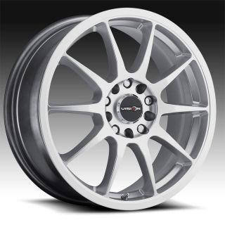 16 inch 5x100 5x4 5 Silver Wheels Rims 4 Lug Acura Nissan Honda