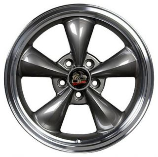 17 Anthracite Bullitt Bullet Wheels Set of 4 Rims Fits Mustang® GT