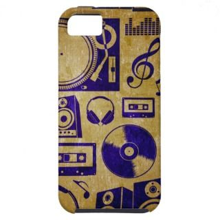 dj music vintage case iphone iPhone 5 cases