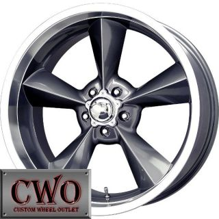 18 Gunmetal MB Old School Wheels Rims 5x127 5 Lug Chevy GMC C1500 Jeep
