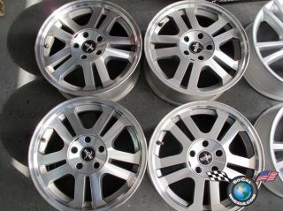 05 09 Ford Mustang Factory 17 Wheels Rims 3649 6R33 1007 Da