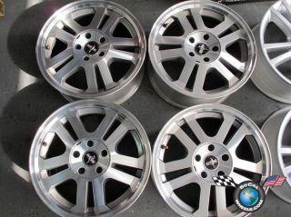 05 09 Ford Mustang Factory 17 Wheels Rims 3649 6R33 1007 Da