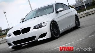 VMR 19 inch VB3 CSL Style Wheel Matte Black BMW 3 Series E90 E92 E93