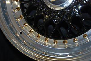 136 Gold Pointy Split Rim Bolts M7 x 32 BBs RS Wheels