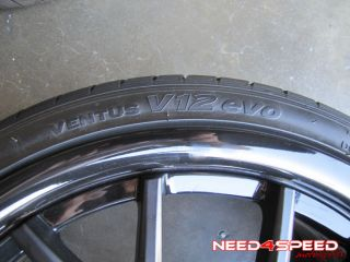 VOSSEN VVS CV2 BMW E46 M3 BLACK CONCAVE STAGGERED RIMS WHEELS TIRES