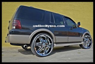 26inch Wheels and Tires Pkg for Land Range Rover Camaro Rims