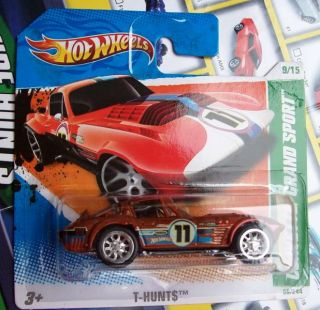 Hot Wheels Super Treasure Hunt Corvette GS Monmsc 2011