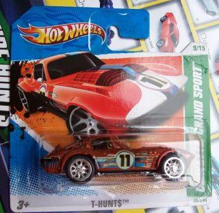 Hot Wheels Super Treasure Hunt Corvette GS Monmsc 2011