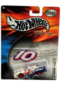 Hot Wheels Racing 2001 Pit Board Valvoline 10 Pontiac