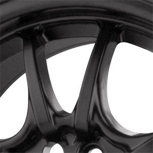 New 15x7 4x100 Drag Dr 29 Black Wheels Rims