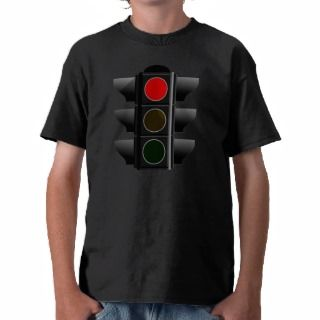 Traffic light traffic light red talk tee shirts