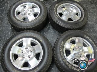 07 13 Toyota Tundra Factory 18 Wheels Tires OEM Rims Sequoia BFG 275
