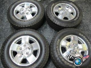 07 13 Toyota Tundra Factory 18 Wheels Tires OEM Rims Sequoia BFG 275