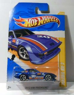 Hot Wheels 2012 Premeire 31 Mazda RX 7 2nd CLR Variation Mint on Card