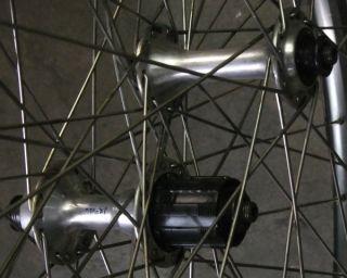 26inch 32 Spoke 3X Deore XT HB M732 Hubs Araya Rims Wheel Set