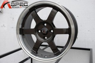 Rota Grid 16x7 4x100 ET40 Royal Gun Metal Rims Wheels