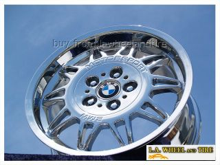 New 17 BMW M3 Motorsport E36 Chrome Wheels Rims Exchange 59202