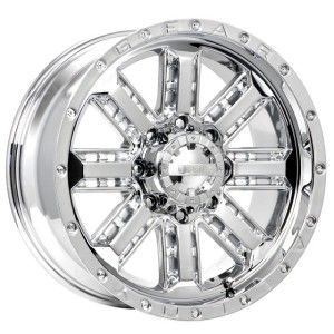 inch Gear Alloy Nitro chrome wheel rim 6x135 F150 Expedition Navigator