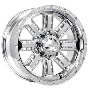 inch Gear Alloy Nitro chrome wheel rim 6x135 F150 Expedition Navigator