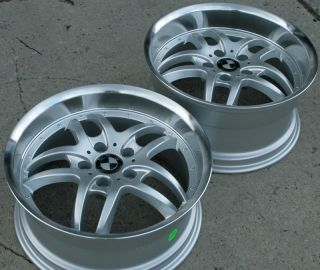RVM 540 18 Silver Rims Wheels BMW E39 E60 5 Series