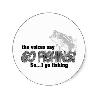 The Voices Say.Sticker