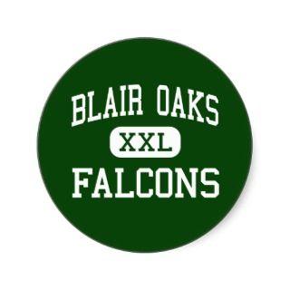 Blair Oaks   Falcons   High   Jefferson City Sticker