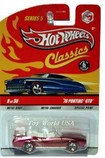 Hot Wheels Classics Ser 5 8 70 Pontiac GTO