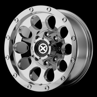 Inch 15x7 Chrome Slot Wheels Chevy Truck Toyota Isuzu 6x5.5 6 LUG Rims