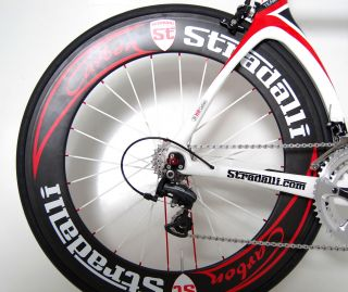 2013 STRADALLI T 7 Team Aero Carbon Time Trial Bike FSA Vision