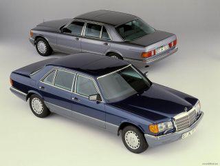 W126 280SE 380SE 500SEL 300SD Factory Stock 15 Wheels Rims