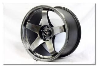 18 Rota Rims Wheels 18x9 5 P45R 350Z G35 EVO 8 9 x STI