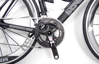 STRADALLI Limited Ed SRAM Red Black Carbon Road Bike 56