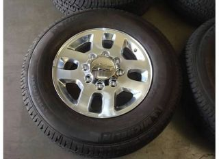 18 Chevy Silverado 2500HD Wheels Rims Tires 11 12 2500 3500 HD GMC