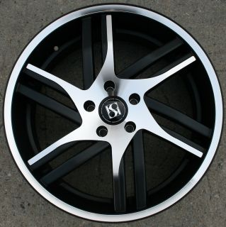 KUTURE SPLINE 20 BLACK RIMS WHEELS GMC TERRAIN 10 up / 20 X 10 5H +25