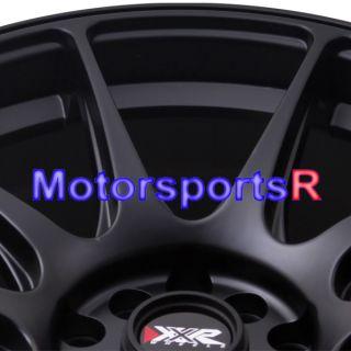 XXR 527 Flat Black Concave Rims Wheels 04 05 07 08 09 Subaru WRX STI