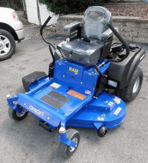 New 52 Dixon Zero Turn Lawn Mower RAM ZTR 24HP Kohler