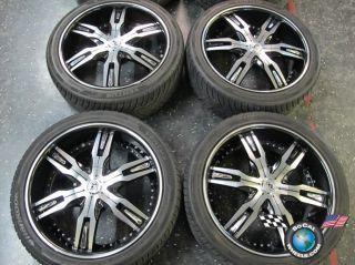 13 Cadillac SRX Lexani LX 30 22 Wheels Tires Rims 22x9 6x120 265/40/22