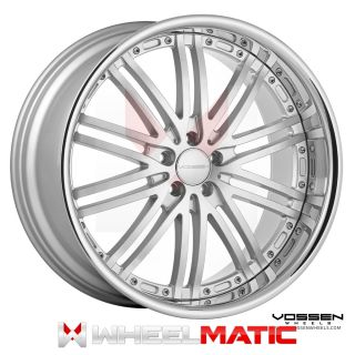 19 Vossen 82 19x8 5 10 5x112 30 36 Silver Machined Wheels Rims