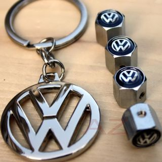 3DLV Key Chain Locking Valve Caps Rims VW Volkswagen GTI Golf Jetta
