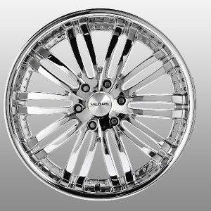 inch Verde Madonna Chrome Wheels Rims 6x5.5 Xterra 4 Runner FJ Cruiser