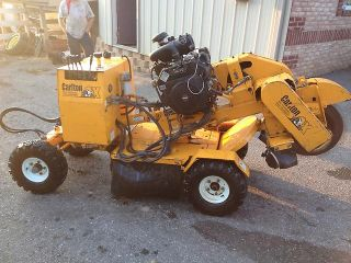 Carlton Stump Grinder SP4012 Kohler Gas Engine Hydraulic Hydrostatic