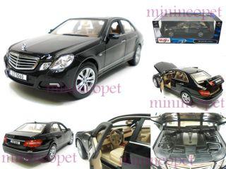 Maisto Mercedes Benz E 350 E350 Class Sedan 1 18 Black