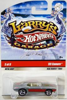 Hot Wheels 69 Camaro Larrys Garage Holiday R2243 NRFP Mint Cond 2009