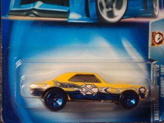 Hot Wheels 2003 Wastelanders Series Yellow 67 Camaro 168