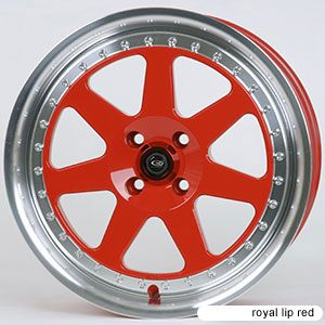 Rota J Mag 15x7 4x100 40 67 1 Royal Red Rims Wheels