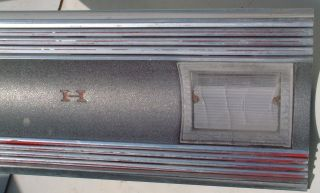 67 1967 Plymouth Satellite GTX Original Rear Panel Trunk MLDG