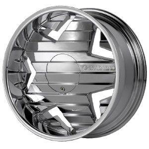 22 inch Greed Krisp Chrome Wheels Rims 5x110 32