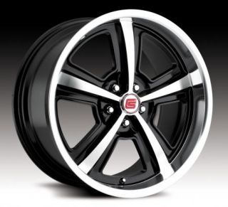 20 Black Shelby Wheels Rims 05 10 Mustang 07 10 GT500